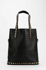 Deena Ozzy stud trim tote at Urban Outfitters