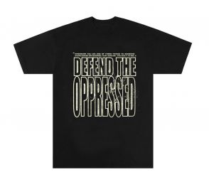 Defend The Oppressed Tee  at The Last Adam