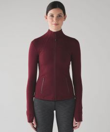Define Jacket in Deep Rouge at Lululemon