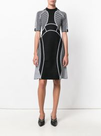 Defining Lines knit dress by Versace at Farfetch