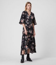 Delana Eden Dress at All Saints