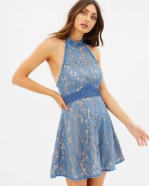 Delilah Halter Mini Dress at The Iconic