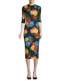 Delora Floral Fitted Dress at Saks Fifth Avenue
