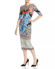 Delora Floral Midi Dress at Bloomingdales