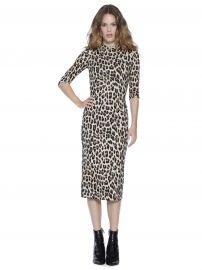 Delora Leopard Dress at Alice + Olivia