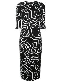 Delora fitted dress at Farfetch