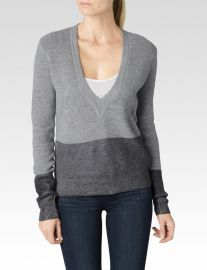 Delphine Colorblock Sweater at Paige