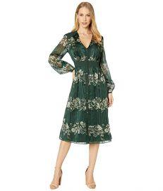 Delyla Meadowsweet Long Sleeve Midi Dress at Zappos
