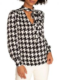 Demming Houndstooth Top at Saks Fifth Avenue