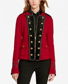 Denim   Supply Ralph Lauren French Terry Military Jacket at Macys