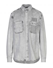 Denim D-Milov Shirt by Diesel at Yoox