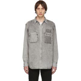 Denim D-Milov Shirt by Diesel at Ssense