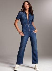 Denim Forum The Francoise Jumpsuit at Aritzia