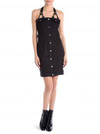 Denim Harness Mini Dress at Saks Off 5th