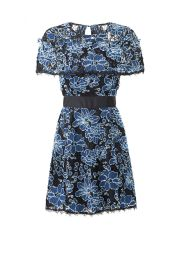 Denim Lace Ariella Dress Nicole Miller at Rent The Runway