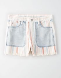 Denim Mom Shorts by American Eagle at American Eagle
