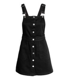 Denim Overall Dress at H&M