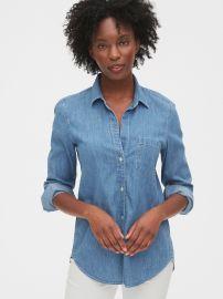 Denim Perfect Shirt at Gap