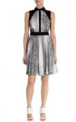 Denim Print Shirt Dress at Karen Millen