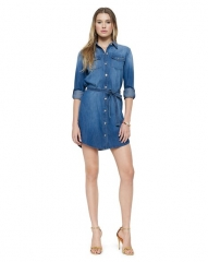 Denim Shirtdress at Juicy Couture