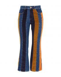 Denim Stripe Pants by See by Chloe at Yoox