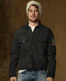 Denim Supply Ralph Lauren Coat  Black Crow Denim Trucker Jacket at Macys