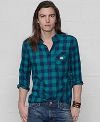 Denim and Supply Ralph Lauren Classic One-Pocket Check Sport Shirt - Casual Button-Down Shirts - Men - Macys at Macys