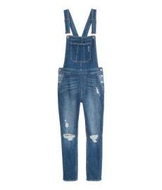 Denim bib overalls at H&M