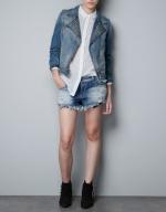 Denim jacket from Zara at Zara