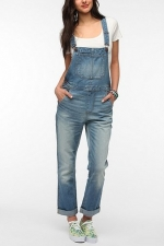 Denim overalls at Urban Outfitters at Urban Outfitters