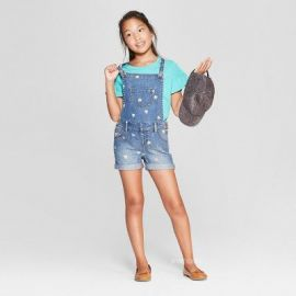 Denim overalls with Hearts by Target at Target