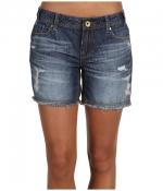 Denim shorts by Mek Dnim at 6pm