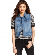 Denim trucker vest by Levis at Macys at Macys