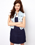 Denim vest like Brittanys at Asos