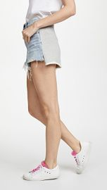 Denim x  Alexander Wang Hybrid Bite Shorts at Shopbop