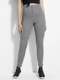 Dentin Houndstooth Leggings by Guess at Guess