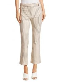 Derek Lam - Striped Crop Flare Pants at Saks Off 5th