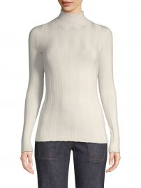 Derek Lam - Wide-Rib Turtleneck Sweater at Saks Fifth Avenue