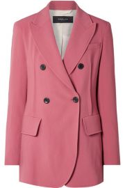 Derek Lam - Oversized double-breasted stretch-crepe blazer at Net A Porter