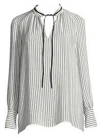 Derek Lam - Striped Silk Blouse at Saks Fifth Avenue
