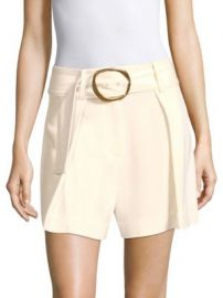 Derek Lam 10 Crosby - Belted Crepe Shorts at Saks Fifth Avenue