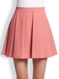 Derek Lam 10 Crosby - Box-Pleat Skirt at Saks Fifth Avenue