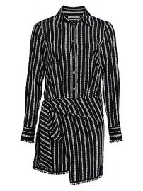 Derek Lam 10 Crosby - Eunice Stripe Shirtdress at Saks Fifth Avenue