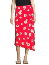 Derek Lam 10 Crosby - Floral Wrap Skirt at Saks Fifth Avenue