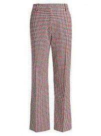 Derek Lam 10 Crosby - Galen Plaid Straight Pants at Saks Fifth Avenue