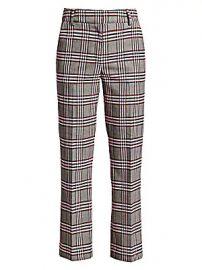 Derek Lam 10 Crosby - Plaid Straight-Leg Pants at Saks Fifth Avenue