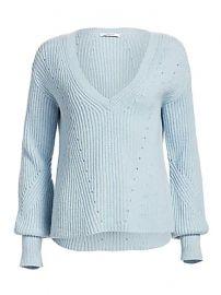 Derek Lam 10 Crosby - Shimmer Merino Wool Cashmere Sweater at Saks Fifth Avenue