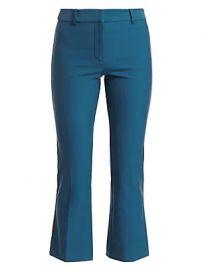 Derek Lam 10 Crosby - Side Stripe Cropped Flare Pants at Saks Fifth Avenue