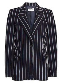 Derek Lam 10 Crosby - Striped Stretch Blazer at Saks Fifth Avenue