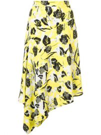 Derek Lam 10 Crosby Asymmetrical Midi Skirt at Farfetch